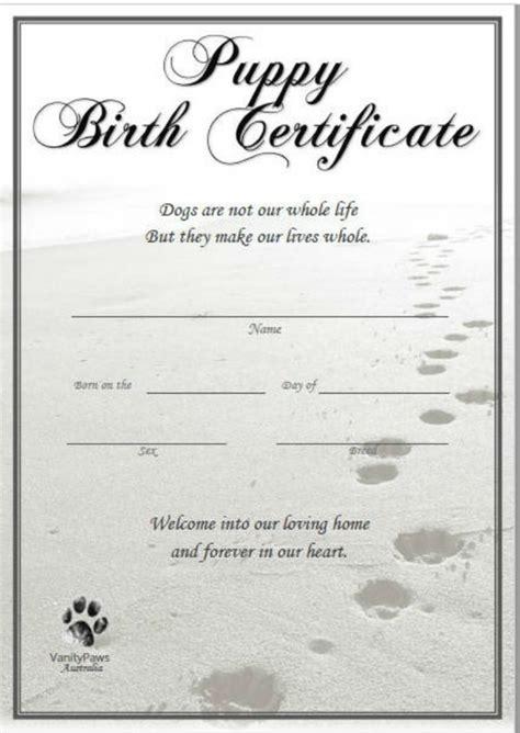 16+ Pet Birth Certificate Designs & TemplatesPSD