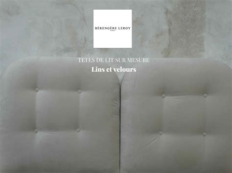 fabrication de tete de lit sur mesure sur mesure mobilier sur mesure b 233 reng 232 re leroy