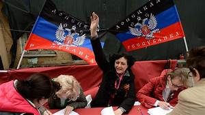 Donetsk People's Republic asks Moscow to consider its ...