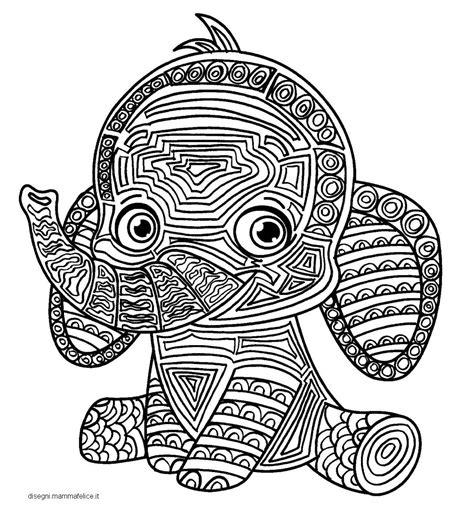 i mandala da colorare mandala per bambini da colorare l elefante disegni