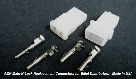 2 Pin Connector Amp Mate-n-lock Replacement For Crane Made