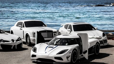 Cars Supercars Koeniggsegg Rolls Royce Mercedes-benz