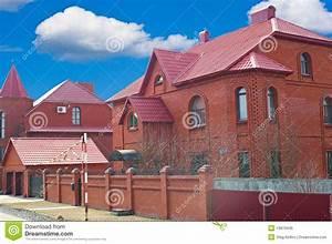 Sehr Günstige Häuser : h user vom roten ziegelstein lizenzfreies stockbild bild 13879446 ~ Sanjose-hotels-ca.com Haus und Dekorationen
