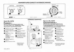 Kenmore Residential Washers Manual 97120130