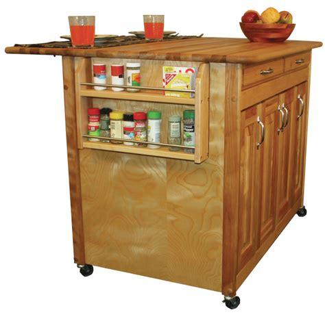 cymax kitchen islands catskill craftsmen butcher block work center plus model 54230 3072
