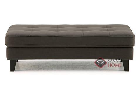 barbara fabric ottoman by palliser is fully customizable