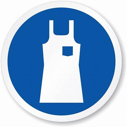 Apron Sign Wear Protection Protective Iso Ppe
