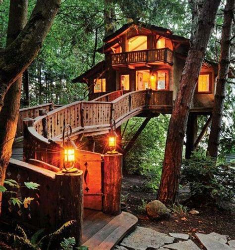 Tree Houses For Adults (40 Pics