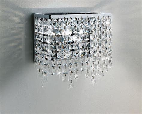 applique cristallo messico lada parete cristallo grande illuminando