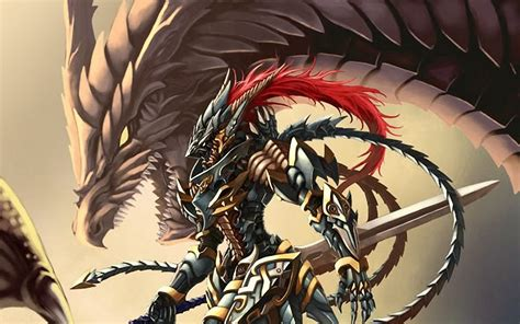 yugioh backgrounds yu gi oh dragons armor sword hd fantasy armored desktop 1080 pixelstalk torneio tag knights twohanded suit android