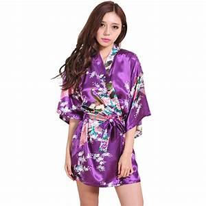 Robe De Chambre Pas Cher : robes l gantes robe de chambre kimono pas cher ~ Teatrodelosmanantiales.com Idées de Décoration
