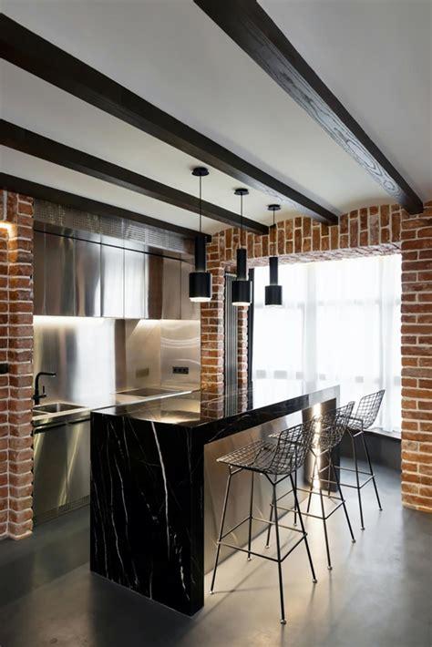 cuisine style industriel loft 12 concepts de cuisine moderne vus par des designers