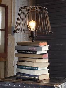 Lampe A Pile A Poser : fabriquer une lampe id es pour les amateurs de bricolage ~ Melissatoandfro.com Idées de Décoration