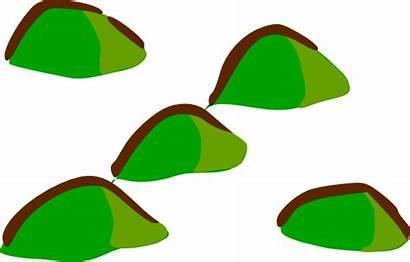 Hills Map Hill Clipart Symbols Clip Rpg