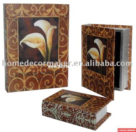 hollow books for decoration decorative book box set storage box set design
