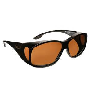 solar shield classic polarized fit over driving sunglasses
