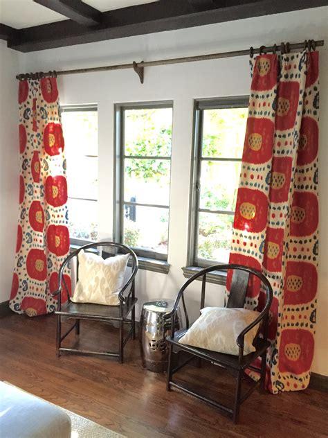 my easy and cheap diy curtain rods lorri dyner design