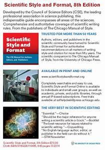 Council Of Science Editors Cse Manual