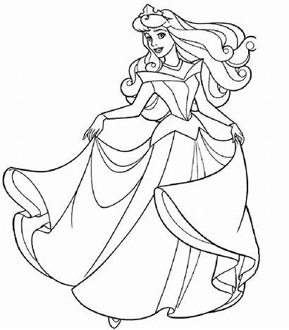 Disney Princess Coloring Pages Belle Princesses Sheets