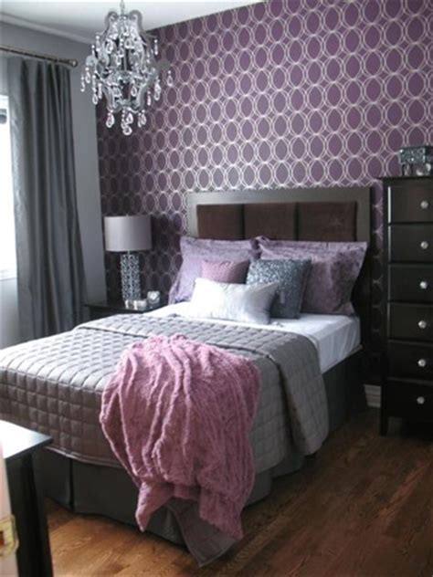 grey and plum bedrooms purple violet wine or plum bedroom design d 233 cor ideas grey curtains purple pillows and