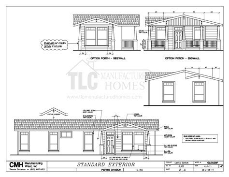 Floor Plans Golden West Limited Series: TLC Manufactured Homes