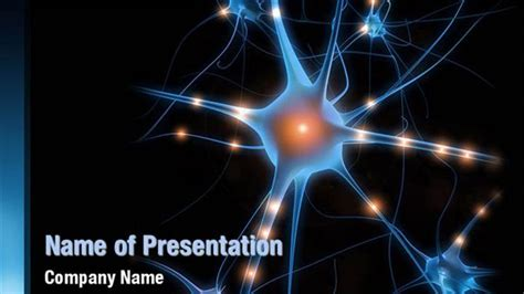 nerve cell powerpoint templates nerve cell powerpoint