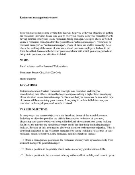 objectives for marketing resume 22 resumes objectives