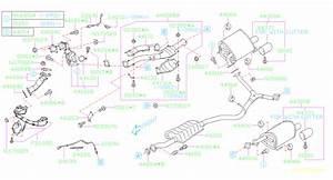 Subaru Forester Turbocharger Gasket  Outlet   Gasket