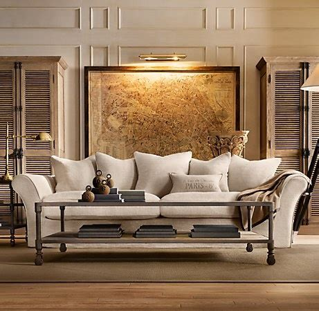Camelback Slipcovered Sofa Restoration Hardware by 8 Best Images About Sofas On House Tours Home