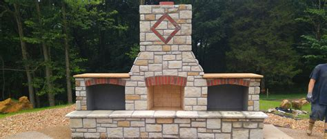 outdoor fireplace st louis craftmasters st louis