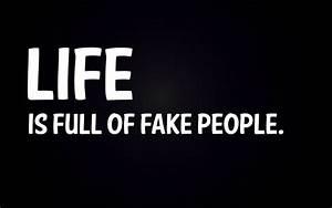 Lumea este plina de oameni falsi… | luciancobleschi
