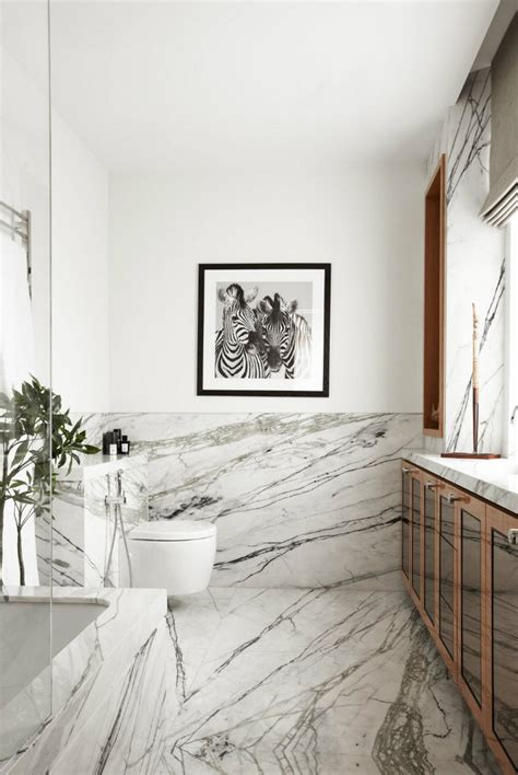 Modern Home Decor The Marble Bathroom  Inspiration And
