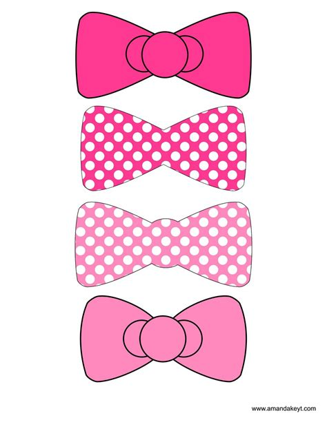 bows  kitty pink  kitty inspired printable photo