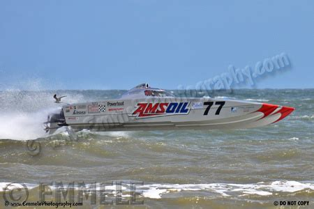 Fast Boat Orange Beach by Sports And Action Photographer In Seattle Washington
