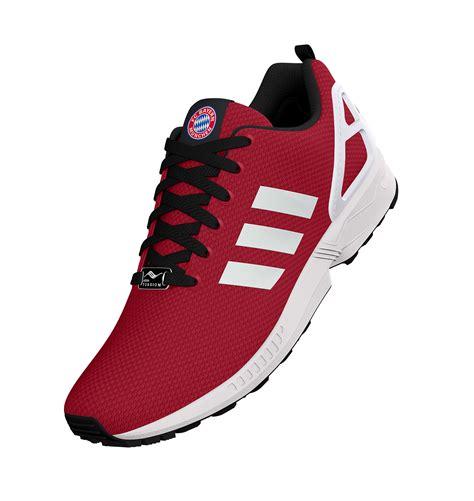 Schuhe München by Adidas Mi Fc Bayern M 252 Nchen Zx Flux Shoes Bayern In