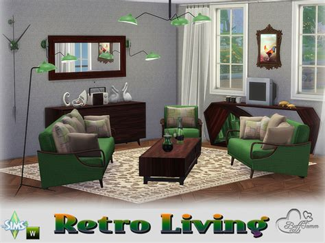 Retro Livingroom by Buffsumm S Retro Livingroom