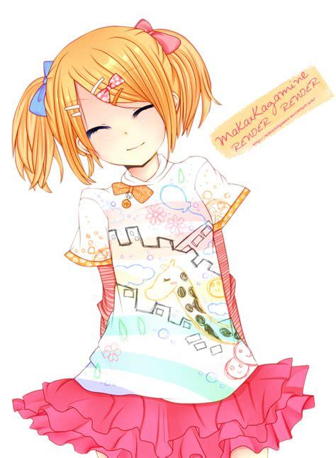 Archivosmile Rin Kagamine Render By Makaxkagamined4shpws