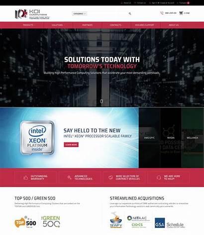 Ecommerce Website Koi Websites Examples Computer Computers