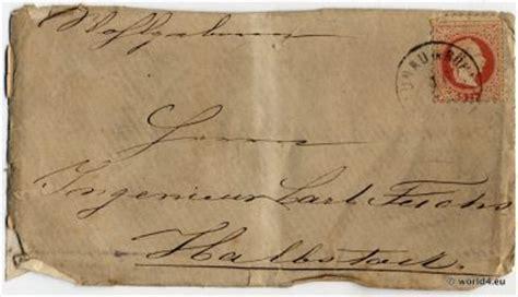 antique autograph bohemian letter   lost