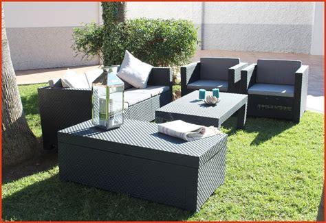 Awesome Salon De Jardin Tresse Gris Anthracite Images - Amazing House Design - getfitamerica.us