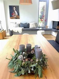 Adventskranz Ideen 2016 : diy adventskranz 2015 klassisch aber klassisch weihnachten und tannenzapfen ~ Frokenaadalensverden.com Haus und Dekorationen