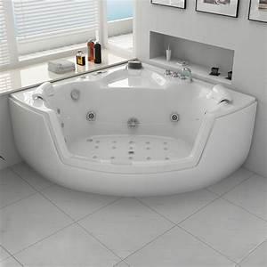 Baignoire Balnéo D Angle : grande baignoire d 39 angle baln o grande baignoire d 39 angle ~ Dailycaller-alerts.com Idées de Décoration