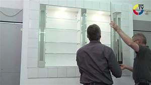 Burgbad rc40 spiegelschrank montage youtube for Spiegel schrank