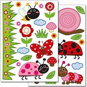 Sticker Für Die Wand Kinderzimmer : wandtattoo marienk fer ~ Michelbontemps.com Haus und Dekorationen