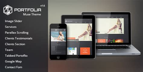 10 High Quality Premium Adobe Muse Templates Dzineflip 10 High Quality Premium Adobe Muse Templates Dzineflip