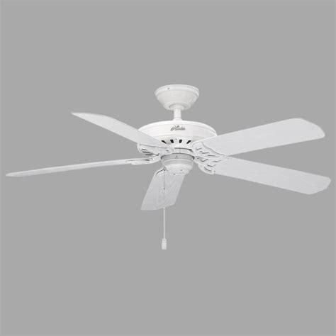 hunter mariner 52 in indoor outdoor white ceiling fan hunter bridgeport 52 in indoor outdoor white d rated