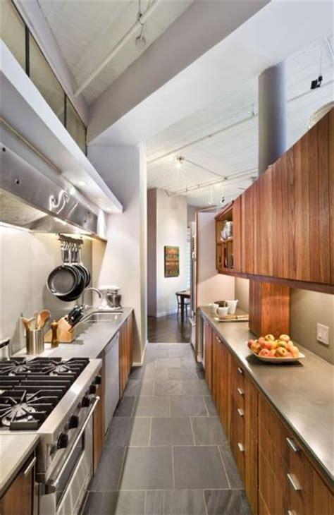 modern kitchen design ideas galley kitchens maximizing