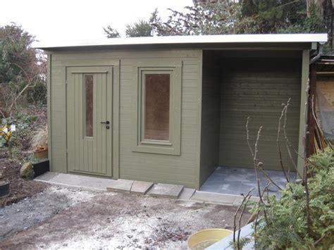 gartenhaus 40mm wandstärke gartenhaus mit unterstand gartenhaus wibo 300 mit