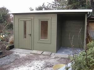 Gartenhaus Mit Unterstand : gartenhaus flachdach mit unterstand my blog ~ Whattoseeinmadrid.com Haus und Dekorationen