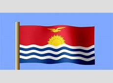 National Flag Of Kiribati 123Countriescom